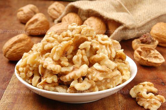 как чистить орехи