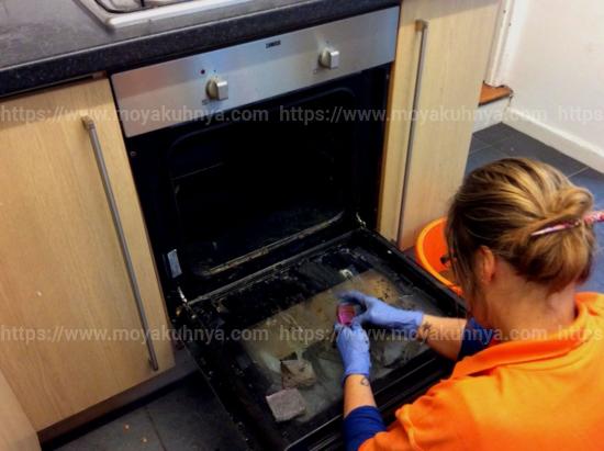 как быстро очистить духовку от жира в домашних условиях