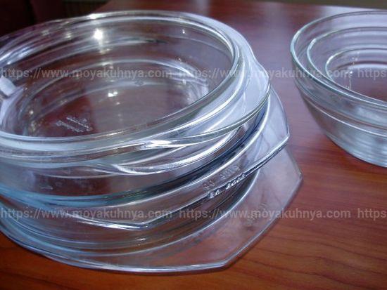 как очистить стеклянную посуду
