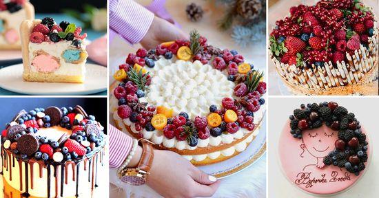 чем можно украсить торт