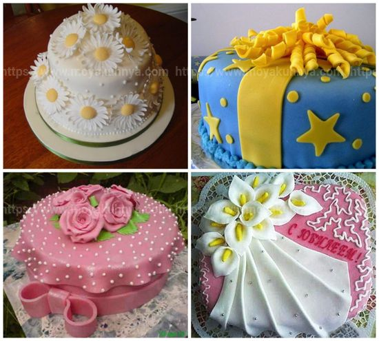 красиво украсить торт