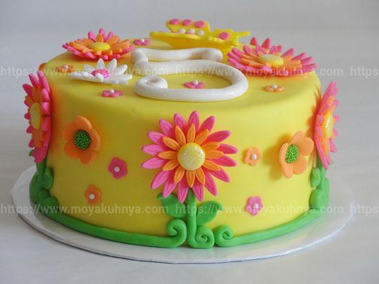 чем украсить торт в домашних условиях на день рождения
