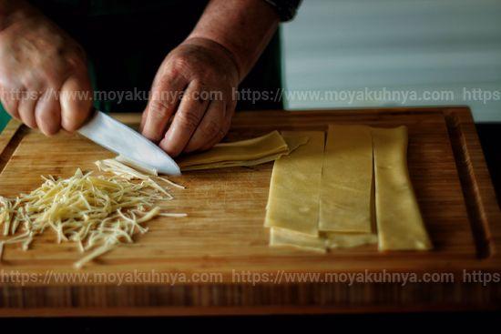 как замесить тесто на лапшу домашнюю