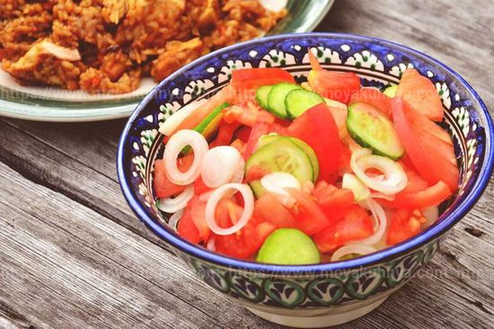 салат для плова