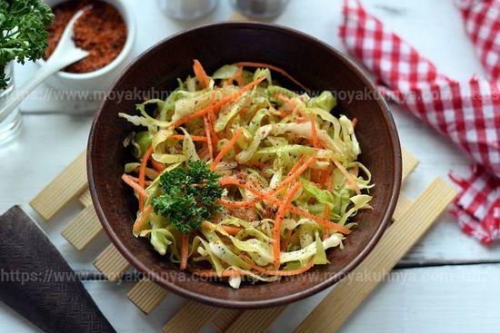 Как солить капусту по-корейски