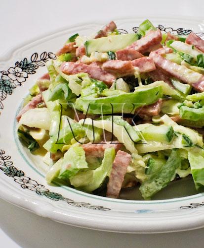 Салат с болгарским перцем простой рецепт - 30